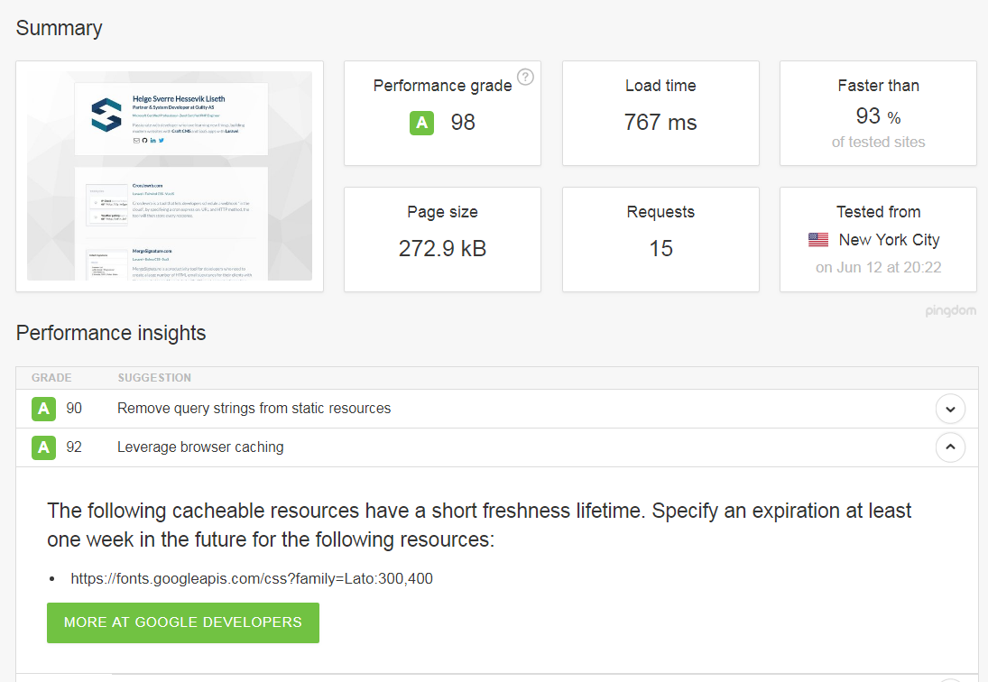 Leveraging Browser Caching with CraftCMS on Nginx - Starting